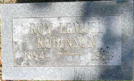 ROBINSON, ROY LEMUEL - Crawford County, Arkansas | ROY LEMUEL ROBINSON - Arkansas Gravestone Photos