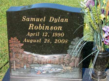 ROBINSON, SAMUEL DYLAN - Crawford County, Arkansas | SAMUEL DYLAN ROBINSON - Arkansas Gravestone Photos