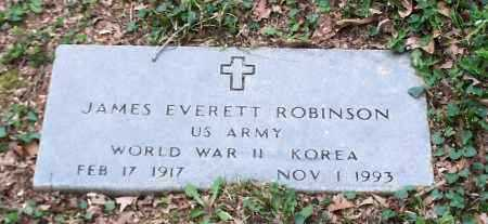 ROBINSON (VETERAN 2 WARS), JAMES EVERETT - Crawford County, Arkansas | JAMES EVERETT ROBINSON (VETERAN 2 WARS) - Arkansas Gravestone Photos