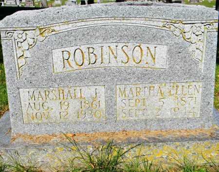 ROBISON, MARSHALL J - Crawford County, Arkansas | MARSHALL J ROBISON - Arkansas Gravestone Photos