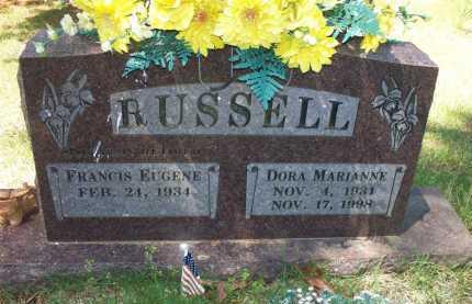 RUSSELL, DORA MARIANNE - Crawford County, Arkansas | DORA MARIANNE RUSSELL - Arkansas Gravestone Photos