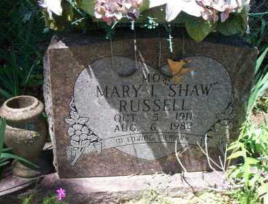RUSSELL, MARY I - Crawford County, Arkansas | MARY I RUSSELL - Arkansas Gravestone Photos