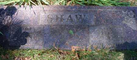 SHAW, LEOLA - Crawford County, Arkansas | LEOLA SHAW - Arkansas Gravestone Photos