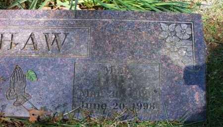 SHAW, LEOLA (CLOSEUP) - Crawford County, Arkansas   LEOLA (CLOSEUP) SHAW - Arkansas Gravestone Photos