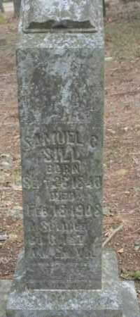 SILL, SAMUEL C - Crawford County, Arkansas | SAMUEL C SILL - Arkansas Gravestone Photos