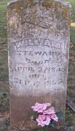 STEWARD, WILLIAM T - Crawford County, Arkansas | WILLIAM T STEWARD - Arkansas Gravestone Photos