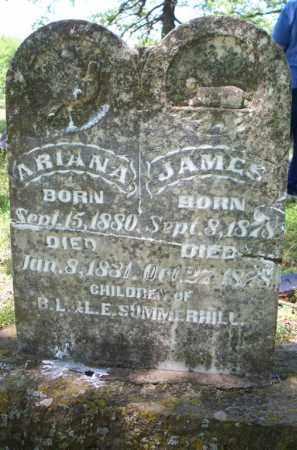 SUMMERHILL, ARIANA - Crawford County, Arkansas   ARIANA SUMMERHILL - Arkansas Gravestone Photos