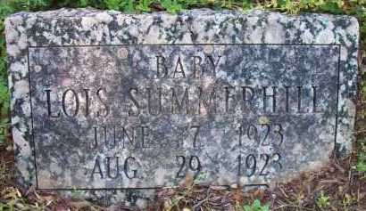 SUMMERHILL, LOIS - Crawford County, Arkansas | LOIS SUMMERHILL - Arkansas Gravestone Photos