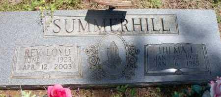 SUMMERHILL, HILMA I - Crawford County, Arkansas | HILMA I SUMMERHILL - Arkansas Gravestone Photos