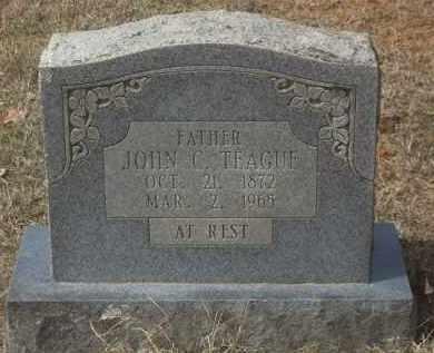 TEAGUE, JOHN C - Crawford County, Arkansas | JOHN C TEAGUE - Arkansas Gravestone Photos