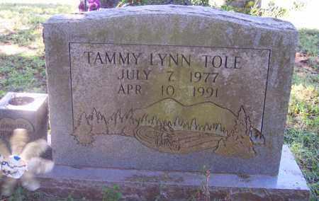 TOLE, TAMMY LYNN - Crawford County, Arkansas | TAMMY LYNN TOLE - Arkansas Gravestone Photos