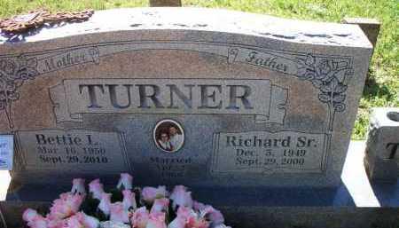 MEDLOCK TURNER, BETTIE LOU - Crawford County, Arkansas | BETTIE LOU MEDLOCK TURNER - Arkansas Gravestone Photos