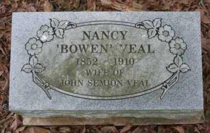 BOWEN VEAL, NANCY - Crawford County, Arkansas | NANCY BOWEN VEAL - Arkansas Gravestone Photos