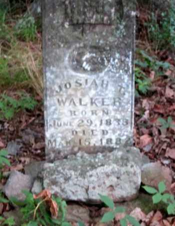 WALKER, JOSIAH T - Crawford County, Arkansas | JOSIAH T WALKER - Arkansas Gravestone Photos