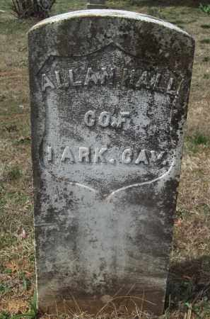 WALL (VETERAN UNION), ALLAN - Crawford County, Arkansas   ALLAN WALL (VETERAN UNION) - Arkansas Gravestone Photos