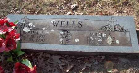 WELLS, VIRGILE S - Crawford County, Arkansas   VIRGILE S WELLS - Arkansas Gravestone Photos