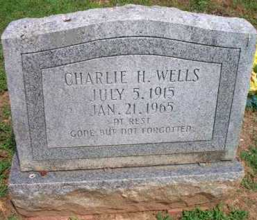 WELLS, CHARLIE H - Crawford County, Arkansas | CHARLIE H WELLS - Arkansas Gravestone Photos