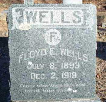 WELLS, FLOYD E. - Crawford County, Arkansas | FLOYD E. WELLS - Arkansas Gravestone Photos