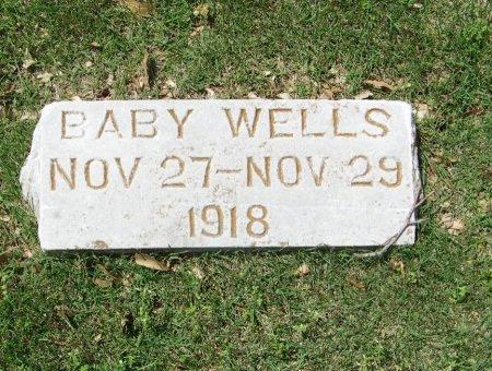 WELLS, INFANT - Crawford County, Arkansas | INFANT WELLS - Arkansas Gravestone Photos