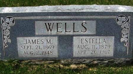 WELLS, JAMES M - Crawford County, Arkansas | JAMES M WELLS - Arkansas Gravestone Photos