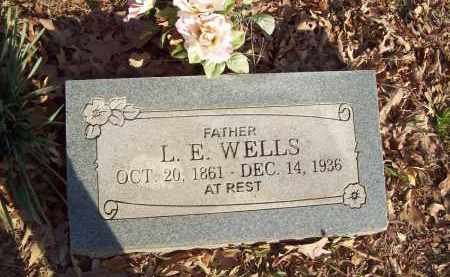 WELLS, L E - Crawford County, Arkansas | L E WELLS - Arkansas Gravestone Photos