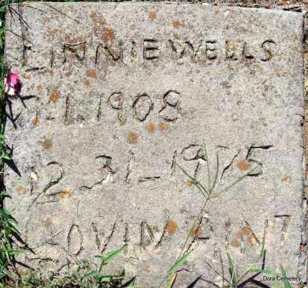 WELLS, LINNIE - Crawford County, Arkansas   LINNIE WELLS - Arkansas Gravestone Photos