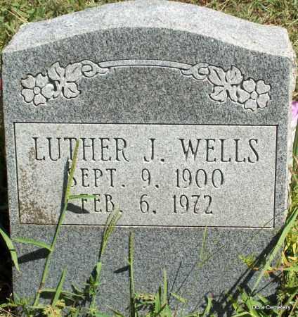 WELLS, LUTHER J - Crawford County, Arkansas | LUTHER J WELLS - Arkansas Gravestone Photos