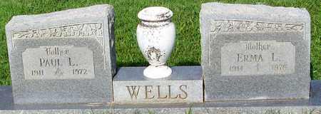 WELLS, PAUL L - Crawford County, Arkansas | PAUL L WELLS - Arkansas Gravestone Photos