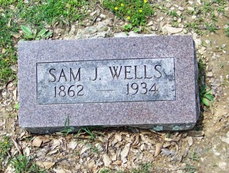 WELLS, SAM J - Crawford County, Arkansas   SAM J WELLS - Arkansas Gravestone Photos