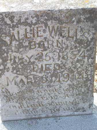 WELLS, SALLIE - Crawford County, Arkansas | SALLIE WELLS - Arkansas Gravestone Photos