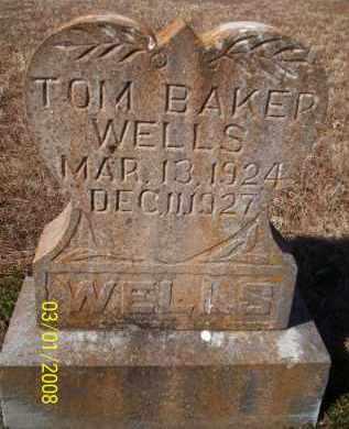 WELLS, TOM BAKER - Crawford County, Arkansas   TOM BAKER WELLS - Arkansas Gravestone Photos