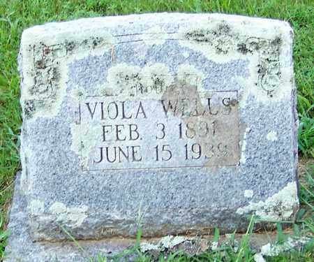 WELLS, VIOLA G - Crawford County, Arkansas | VIOLA G WELLS - Arkansas Gravestone Photos