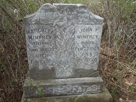 WINFREY, JOHN F - Crawford County, Arkansas   JOHN F WINFREY - Arkansas Gravestone Photos