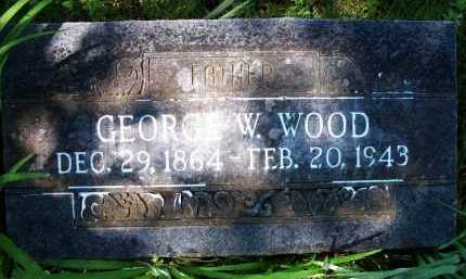 WOOD, GEORGE W - Crawford County, Arkansas | GEORGE W WOOD - Arkansas Gravestone Photos