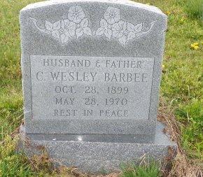 BARBEE, C WESLEY - Crittenden County, Arkansas   C WESLEY BARBEE - Arkansas Gravestone Photos