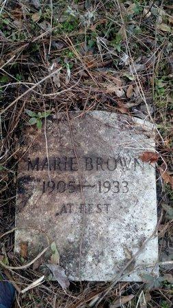 BROWN, MARIE - Crittenden County, Arkansas | MARIE BROWN - Arkansas Gravestone Photos