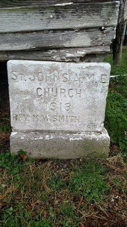*CORNERSTONE, ST JOHN'S 1918 - Crittenden County, Arkansas | ST JOHN'S 1918 *CORNERSTONE - Arkansas Gravestone Photos
