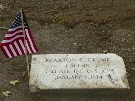 CRUMP (VETERAN CSA), BRAXTON C - Crittenden County, Arkansas   BRAXTON C CRUMP (VETERAN CSA) - Arkansas Gravestone Photos