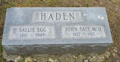 HADEN, JOHN TATE, DR. - Crittenden County, Arkansas | JOHN TATE, DR. HADEN - Arkansas Gravestone Photos