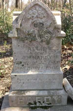 HARDY, ALLIE - Crittenden County, Arkansas | ALLIE HARDY - Arkansas Gravestone Photos