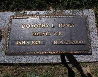 JONES, DOROTHY L - Crittenden County, Arkansas | DOROTHY L JONES - Arkansas Gravestone Photos