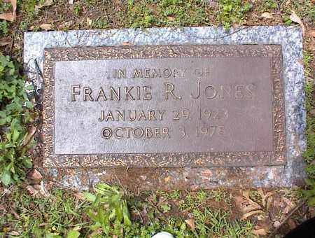 JONES, FRANKIE R - Crittenden County, Arkansas   FRANKIE R JONES - Arkansas Gravestone Photos