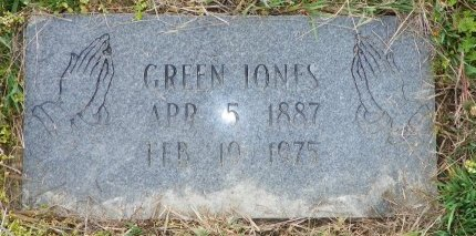 JONES, GREEN - Crittenden County, Arkansas | GREEN JONES - Arkansas Gravestone Photos