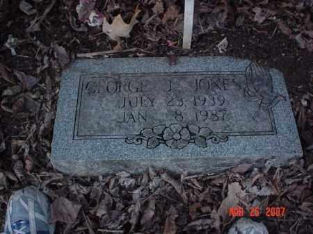 JONES, GEORGE J - Crittenden County, Arkansas | GEORGE J JONES - Arkansas Gravestone Photos