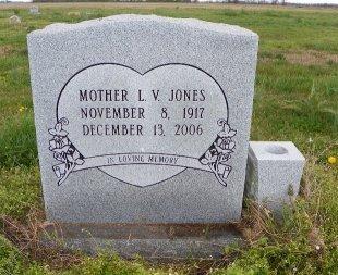 JONES, L V - Crittenden County, Arkansas   L V JONES - Arkansas Gravestone Photos