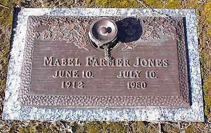 FARMER JONES, MABEL - Crittenden County, Arkansas | MABEL FARMER JONES - Arkansas Gravestone Photos