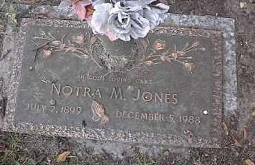 JONES, NOTRA M - Crittenden County, Arkansas | NOTRA M JONES - Arkansas Gravestone Photos