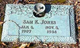 JONES, SAM E - Crittenden County, Arkansas   SAM E JONES - Arkansas Gravestone Photos
