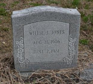 JONES, WILLIE J - Crittenden County, Arkansas | WILLIE J JONES - Arkansas Gravestone Photos
