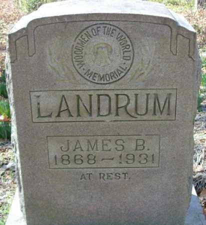 LANDRUM, JAMES B. - Crittenden County, Arkansas | JAMES B. LANDRUM - Arkansas Gravestone Photos